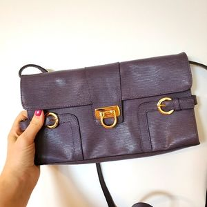 Lord & Taylor Leather Crossbody Bag